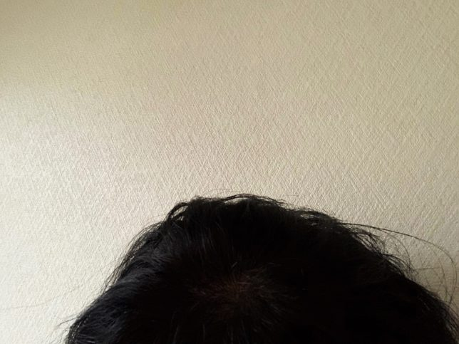 【O by F】リッチスタイルバーム 40gつける前ビフォー